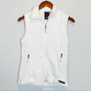 Avalanche Full Zip Fleece Faux Sherpa Thermal Vest